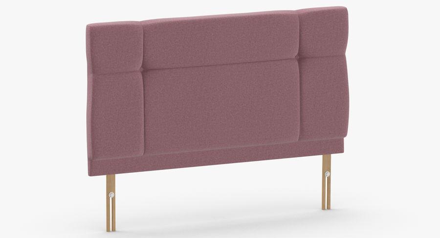 Headboard 13 Blush royalty-free 3d model - Preview no. 3