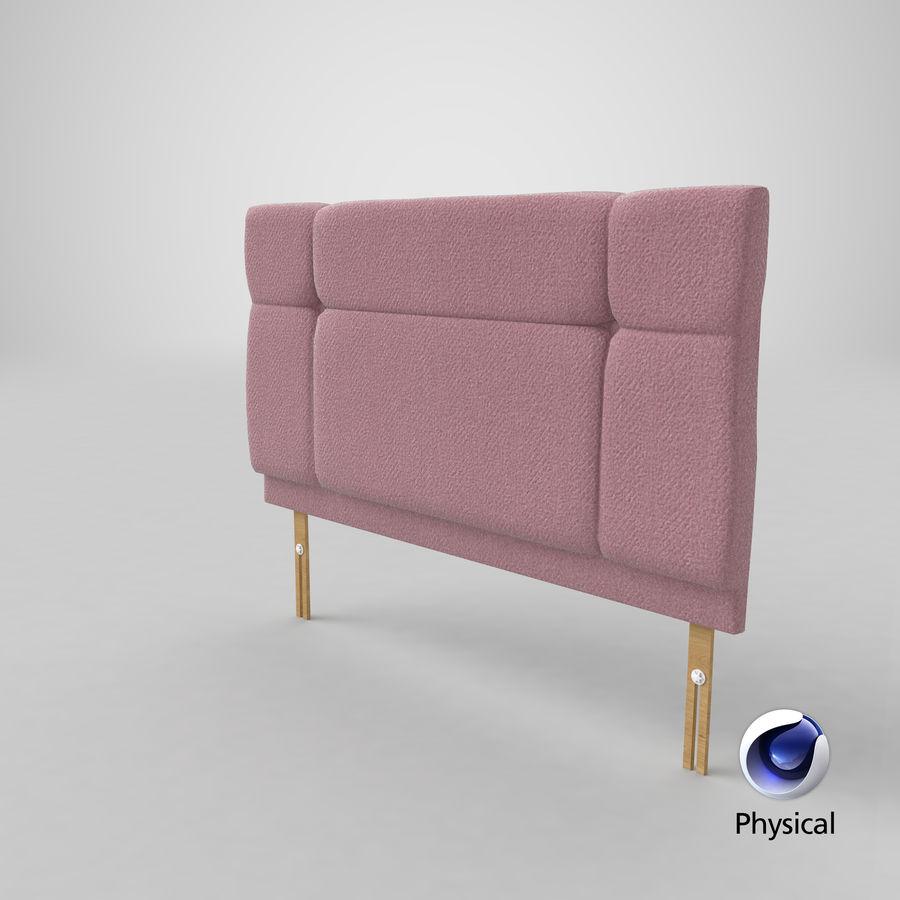 Hoofdbord 13 Blush royalty-free 3d model - Preview no. 22