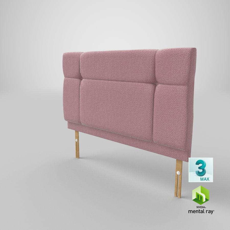 Headboard 13 Blush royalty-free 3d model - Preview no. 25