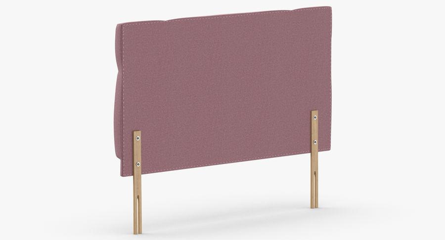 Headboard 13 Blush royalty-free 3d model - Preview no. 6