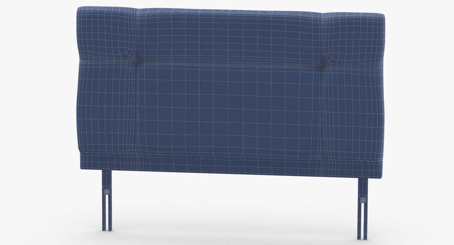 Headboard 13 Blush royalty-free 3d model - Preview no. 13
