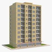 주거용 건물 6 3d model