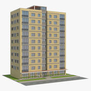 Wohngebäude 7 3d model