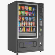 Vending Machine With Candy 3d model