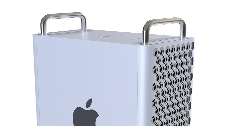 Apple Mac Pro 2019 royalty-free 3d model - Preview no. 11