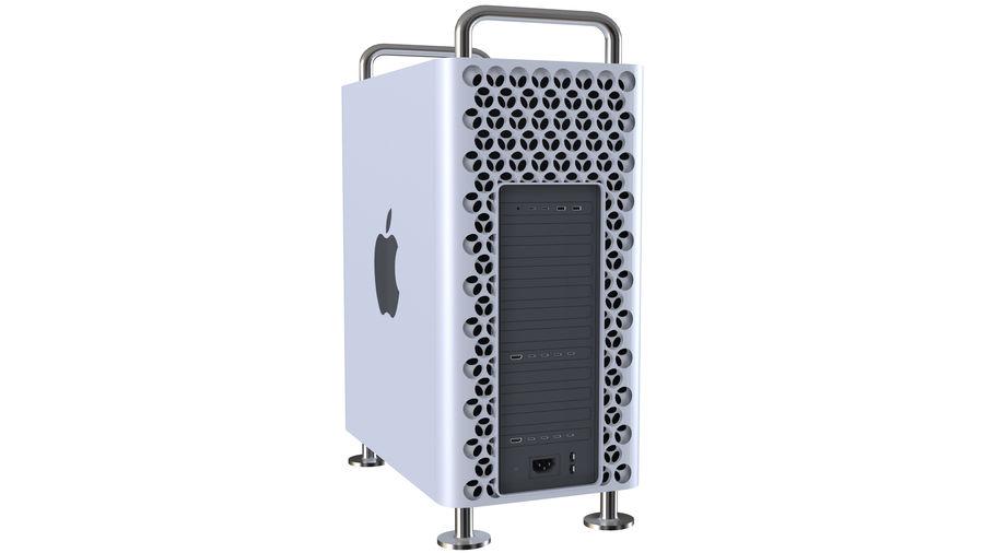 Apple Mac Pro 2019 royalty-free 3d model - Preview no. 4