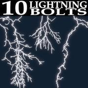 Lightning Collection 3d model