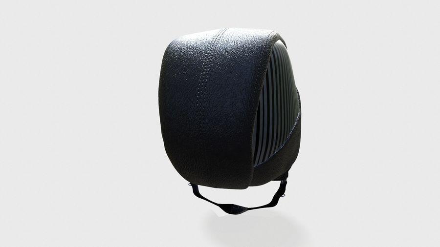 grundlegender Radfahrerhelm royalty-free 3d model - Preview no. 4