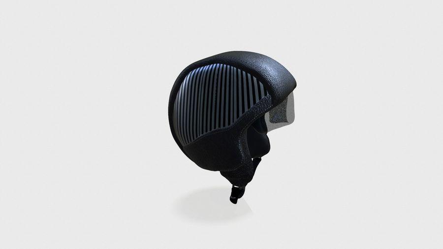 grundlegender Radfahrerhelm royalty-free 3d model - Preview no. 3