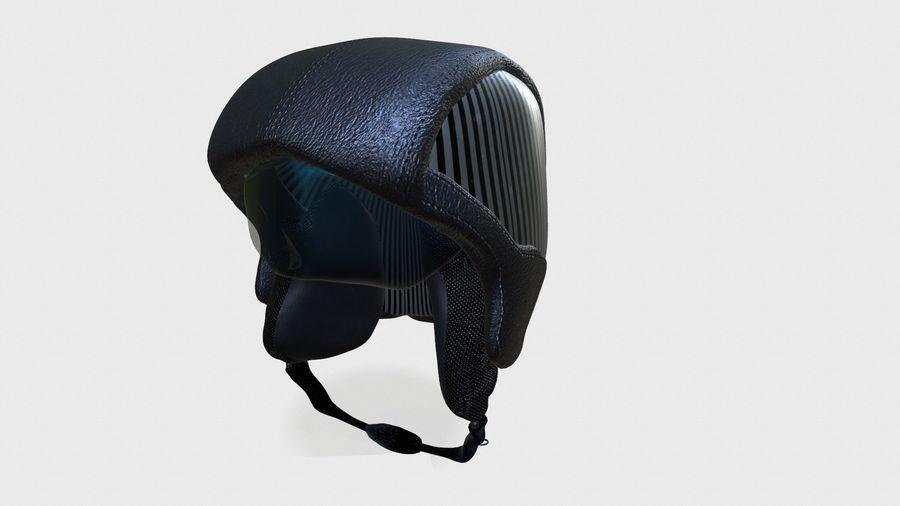 grundlegender Radfahrerhelm royalty-free 3d model - Preview no. 1