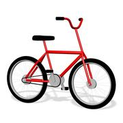 BMX Bike Bicycle 3d model