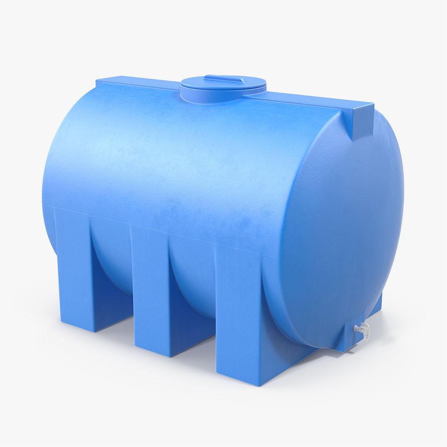 Water Storage Tank 1300L royalty-free 3d model - Preview no. 1