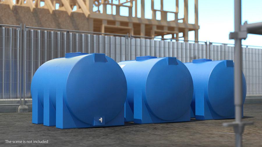 Water Storage Tank 1300L royalty-free 3d model - Preview no. 3