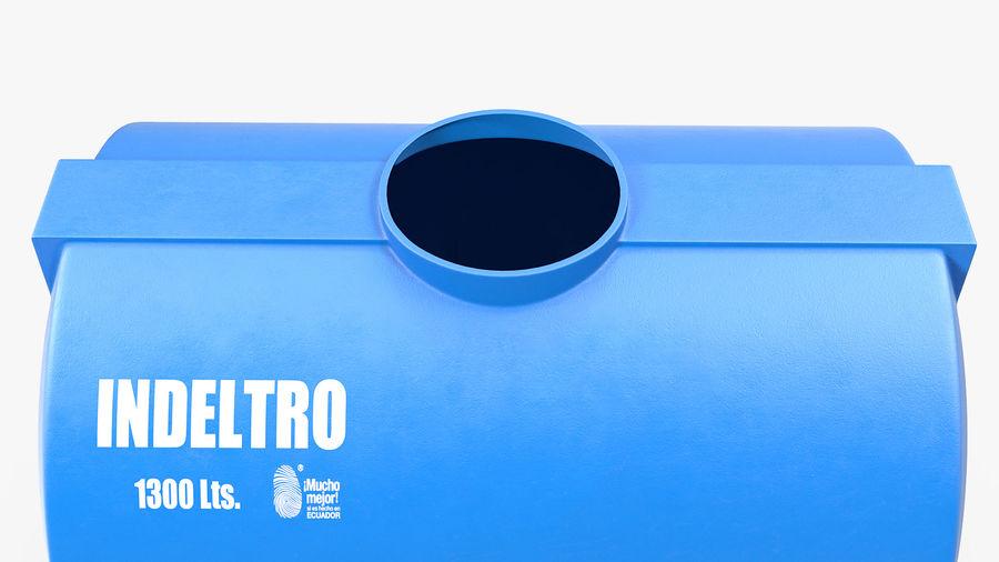 Water Storage Tank 1300L royalty-free 3d model - Preview no. 10