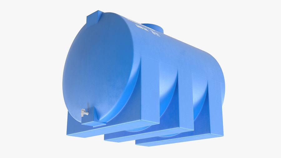 Water Storage Tank 1300L royalty-free 3d model - Preview no. 6