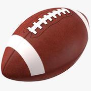 Американский футбол 3d model