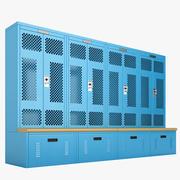 Deposito degli armadietti 02 3d model
