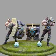 League Of Legends : Braum 3d model