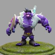 League Of Legends : DrMundo 3d model