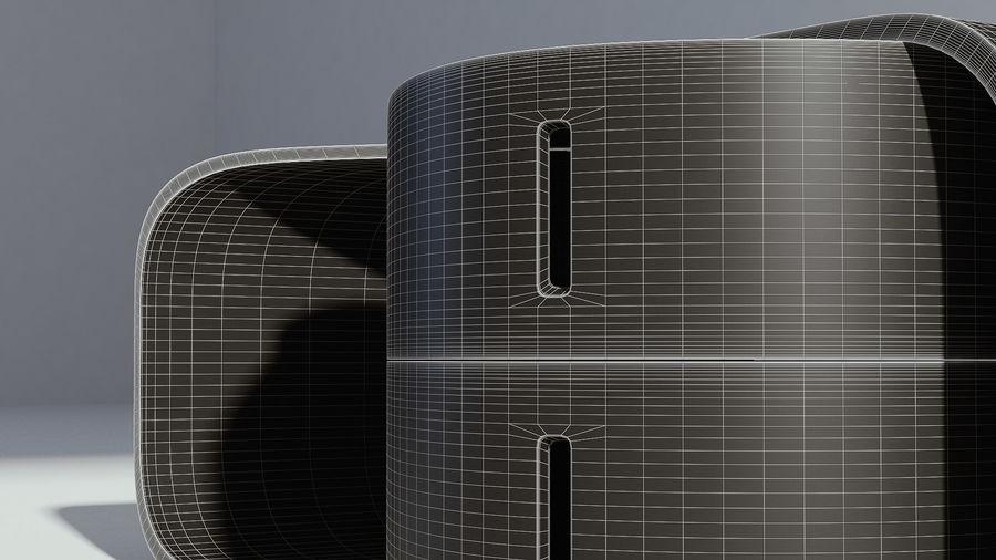现代木制咖啡桌 royalty-free 3d model - Preview no. 7