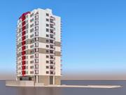 Mieszkanie 3 3d model