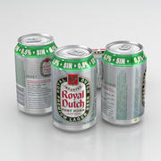 Puszka piwa Royal Dutch Post Horn Lager 330ml 2019 3d model