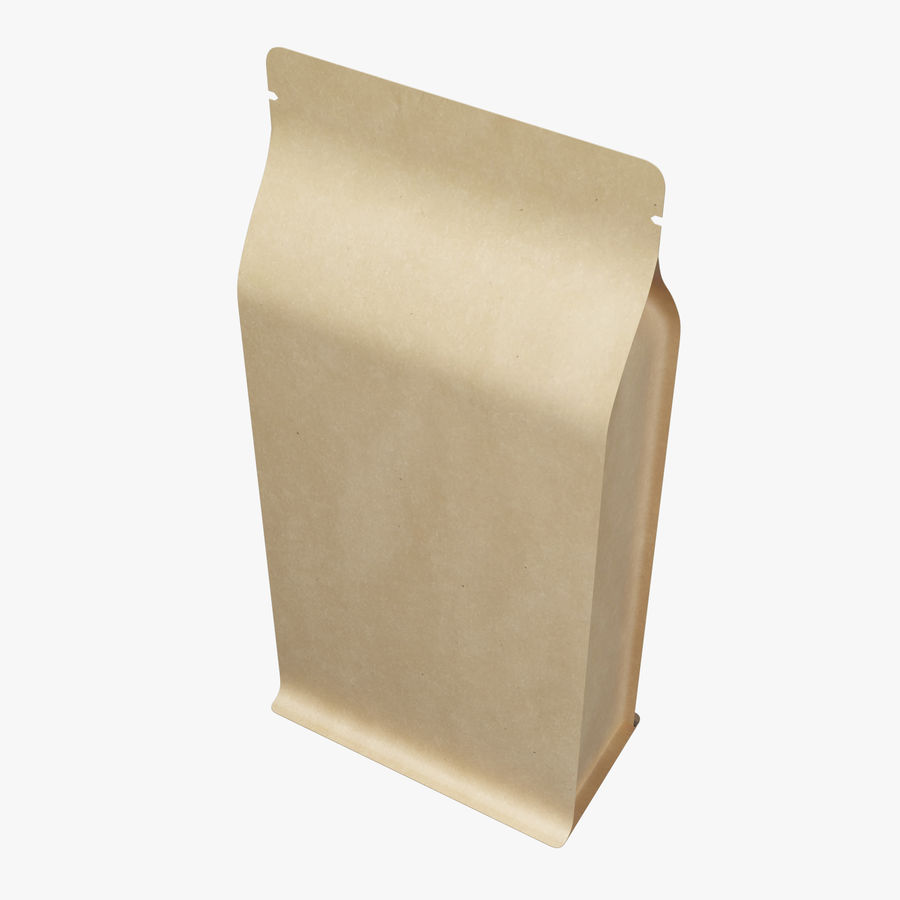 Paper Packaging 06 royalty-free 3d model - Preview no. 4