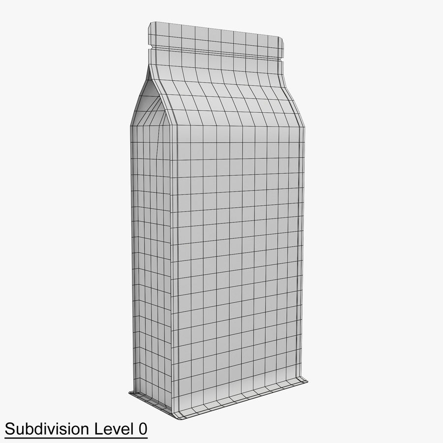 Paper Packaging 06 royalty-free 3d model - Preview no. 8