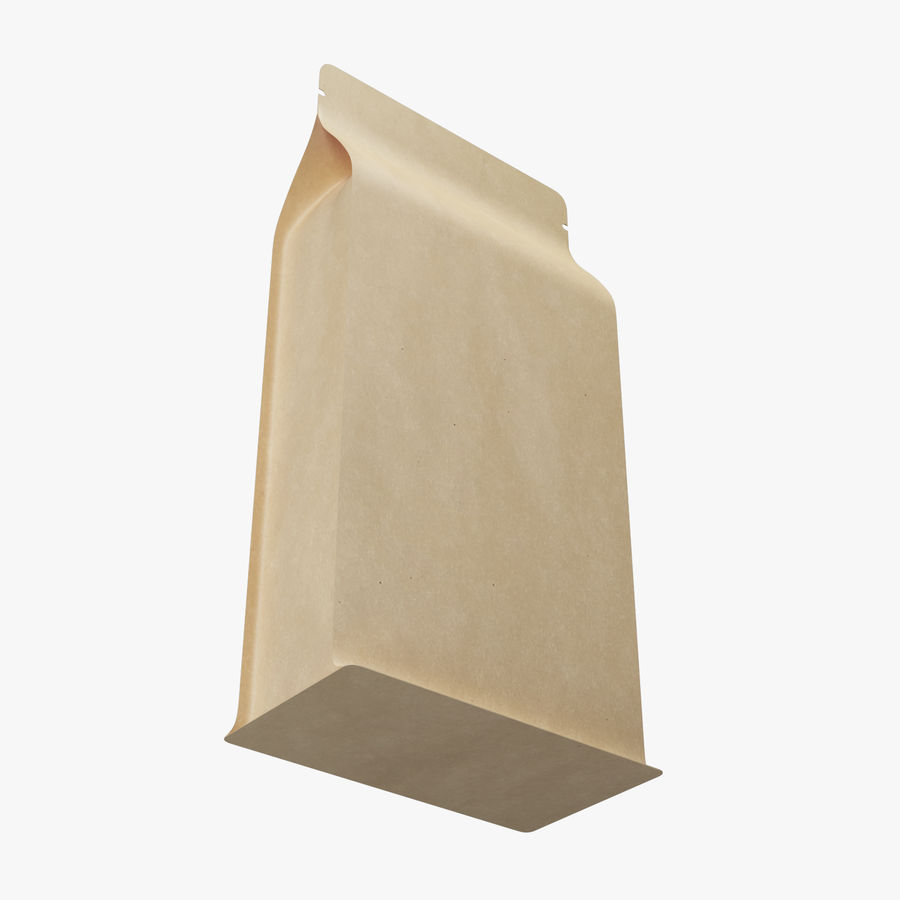 Paper Packaging 06 royalty-free 3d model - Preview no. 5