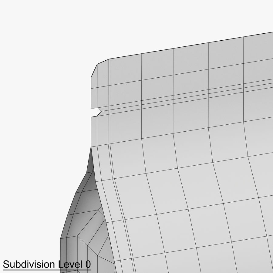 Paper Packaging 06 royalty-free 3d model - Preview no. 11