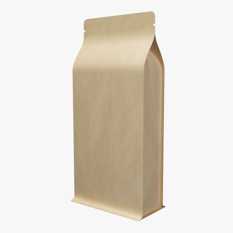 Paper Packaging 06 royalty-free 3d model - Preview no. 2