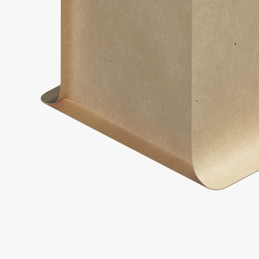 Paper Packaging 06 royalty-free 3d model - Preview no. 7