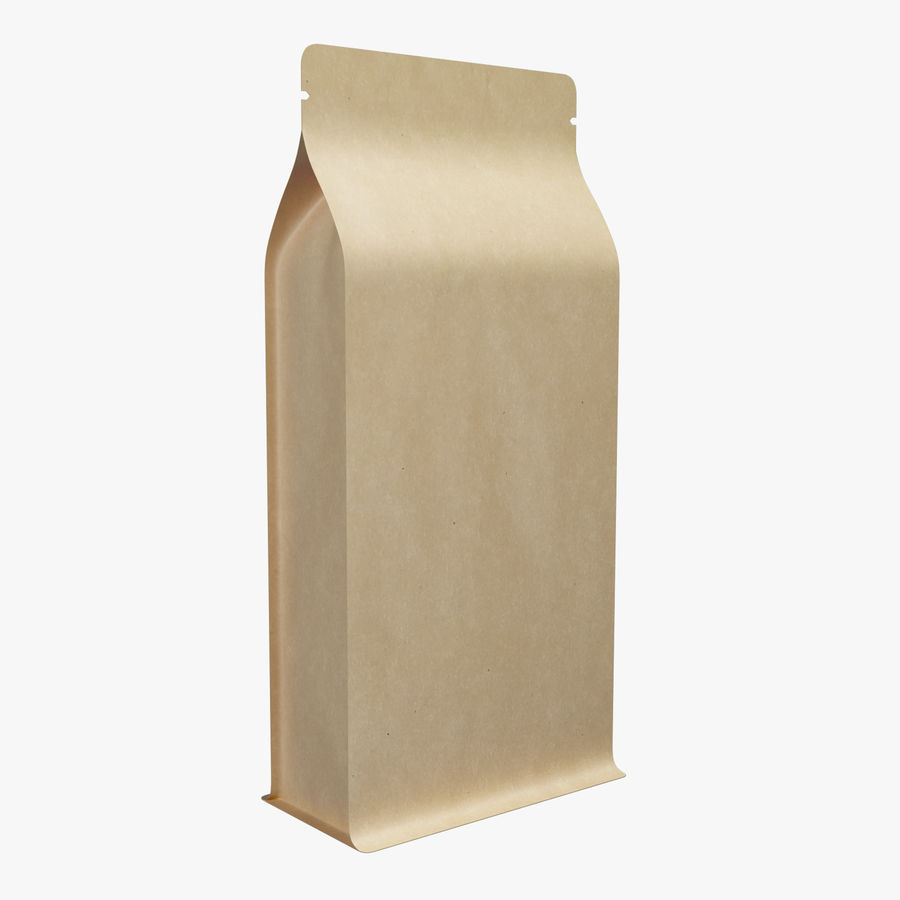 Paper Packaging 06 royalty-free 3d model - Preview no. 1