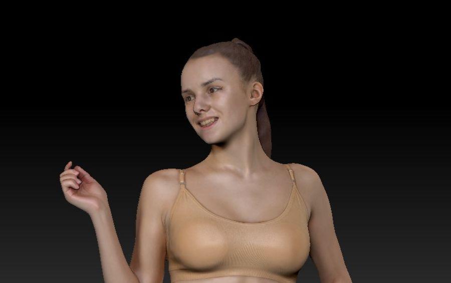 ヌードトップ55のセクシーな女性 royalty-free 3d model - Preview no. 11