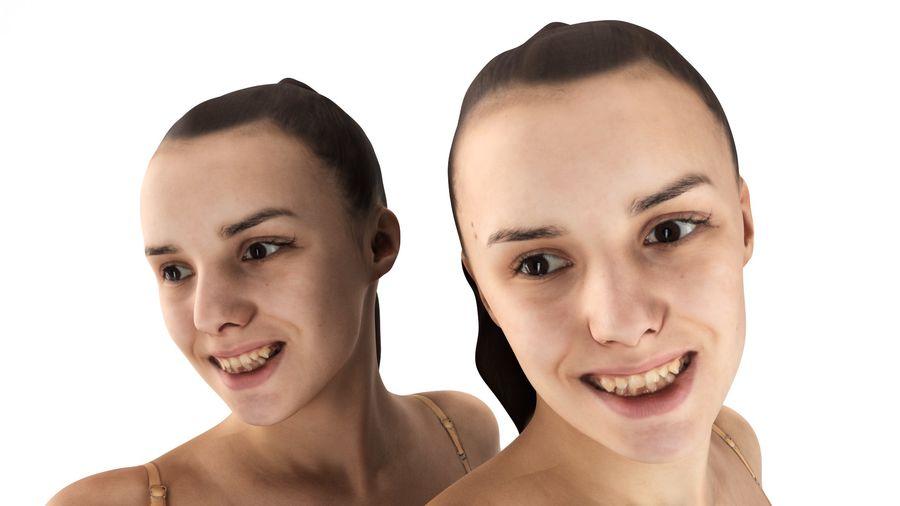 ヌードトップ55のセクシーな女性 royalty-free 3d model - Preview no. 3