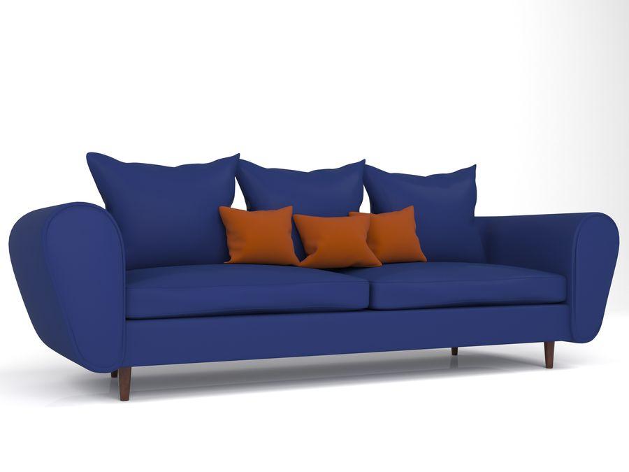 Sofa royalty-free 3d model - Preview no. 1