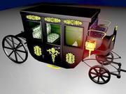 VIP Horse Carriage 3d model
