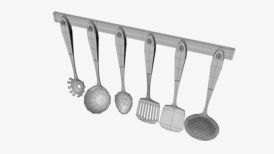 調理器具 royalty-free 3d model - Preview no. 10