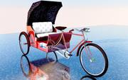 Byke Rickshaw 3d model