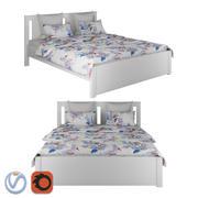 IKEA SONGESAND Säng 3d model