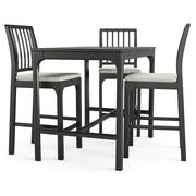 Tavolo e sedia Ekedalen 3d model