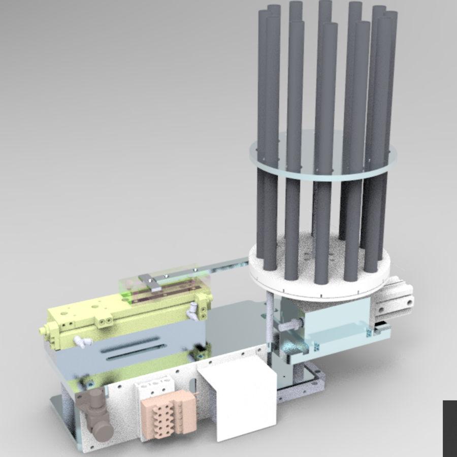 Pneumatyczny obrotowy mechanizm podający (łożysko) royalty-free 3d model - Preview no. 10