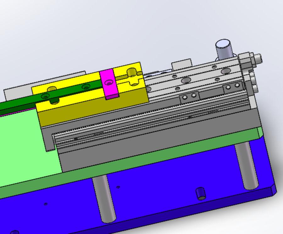 Pneumatyczny obrotowy mechanizm podający (łożysko) royalty-free 3d model - Preview no. 5