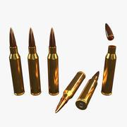 Bullet Lapua Magnum 338 1 3d model