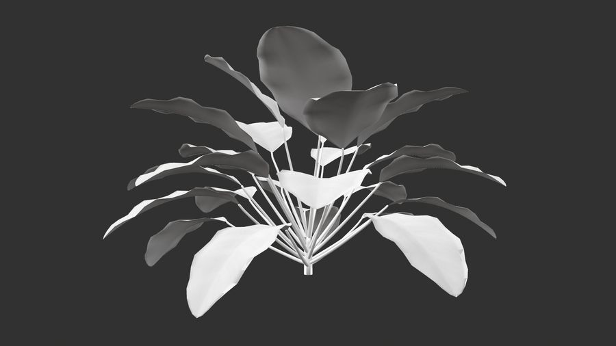 TREE-001 Plant royalty-free 3d model - Preview no. 4