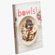 그릇 요리 책 3d model