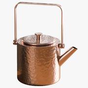 Tetera de cobre modelo 3d