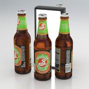 Beer Bottle Brooklyn Brewery East IPA 355ml 2019 3d model