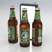 Beer Bottle Brooklyn Brewery Hoppy Amber Lager 355ml 2019 3d model