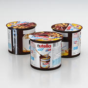 Nutella i GO! Chlebaki i Estathe Drink Pack 2019 3d model